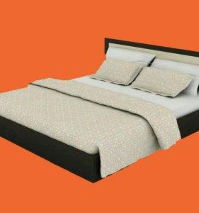 Продается двуспальная кровать с матрасом 180*200