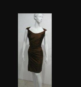 Платье с драпировкой( р.50)