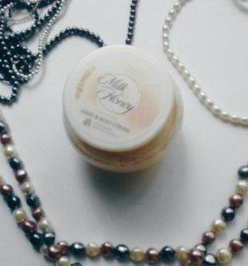 Питательный крем для рук и тела «Молоко и мед – Зо