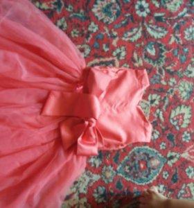 Платье на девочку 1-3года