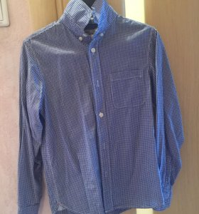 Рубашка H&M бренд, новая на мальчика рост 140