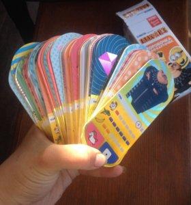 Коллекционные карточки гадкий я 3