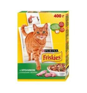 Сухой корм для кошек Friskies кролик- птица-овощи