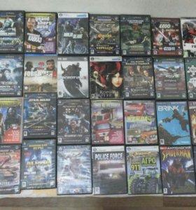 Диски: игры, фильмы, сериалы.