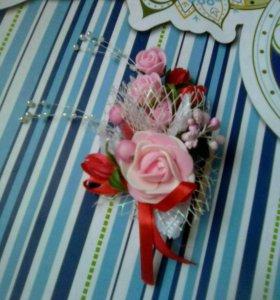 Цветок свадебный