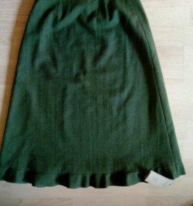 Новая шерстяная юбка р. 40-42