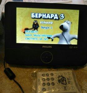 Портативный DVD проигрыватель PHILIPS