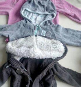 Очень много одежды от 0 до 1 года
