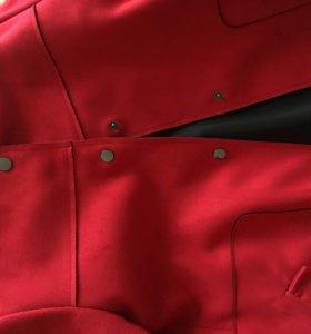 Пальто Zara замша