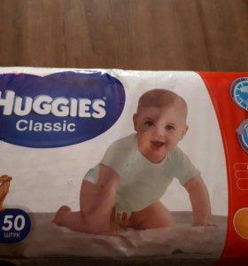 Памперсы huggies 4 (7-18кг)