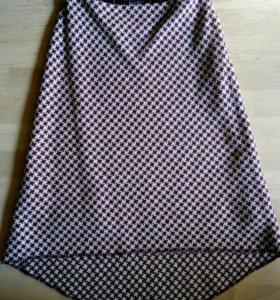 Новая шерстяная юбка р.44