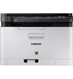 Лазерное МФУ (цветное) Samsung Xpress SL-C480