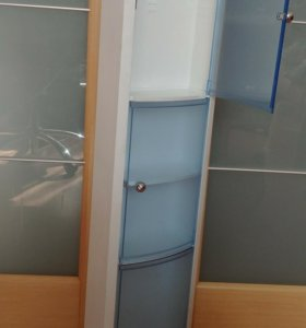 Навесная полка-шкаф для ванной комнаты НОВАЯ