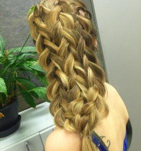 Плетение кос/Локоны