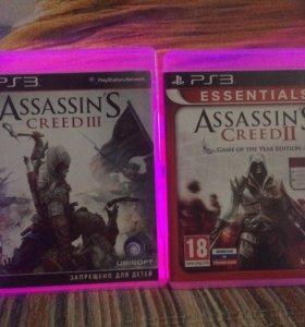 Assassin's creed II и Assassin's creed III