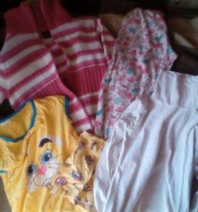 Пакет вещей для девочки 132-140 см