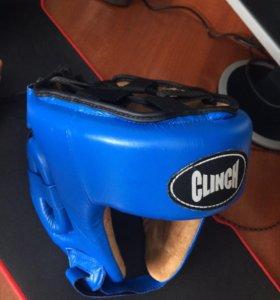 Боксёрский шлем + перчатки