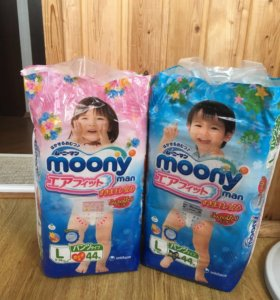 Трусики-подгузники Moony
