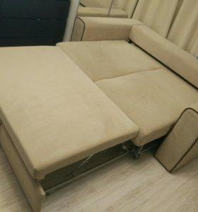 Велюровый диван-кровать HomeMe
