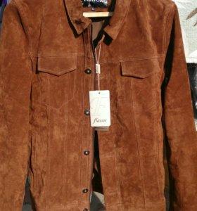 Мужская куртка натуральная замша наш размер 46-48