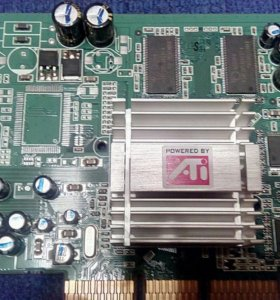 Видеокарта RADEON 9200