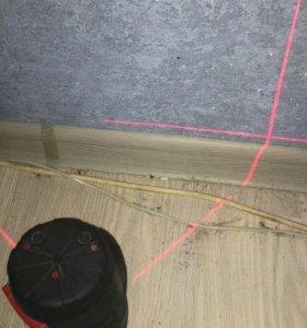 Лезерный уровень строительный kapro