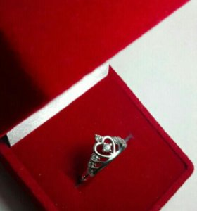 Серебряное кольцо с феонитами
