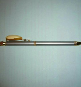 Ручка с янтарем №1
