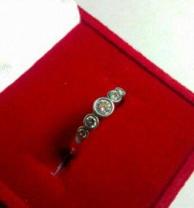 Кольцо серебряное с феонитами