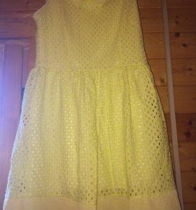 Платье желтое!!!!