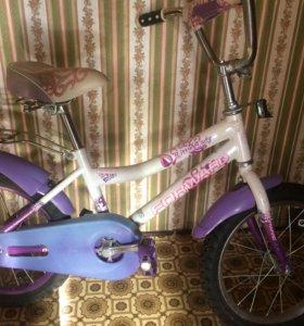 Велосипед для девочки 6-8 лет