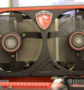 Видеокарта MSI GeForce GTX750Ti 2gb