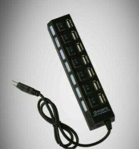 USB разветвитель 7 гнезд