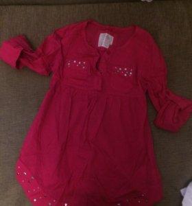Рубашка -платье детская