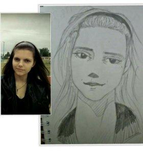 Портреты в разных стилях