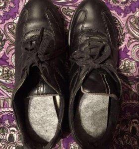 Ботинки мужские зимние кожаные Ecco