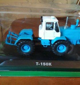 Модель трактора т 150.