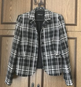 Пиджак полушерсть 46