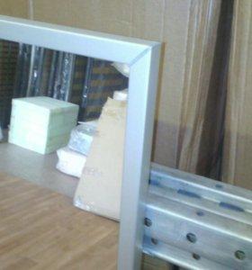 Зеркало в рамке (пластик)