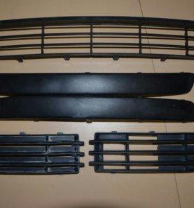 Накладки для бампера Mitsubishi Colt