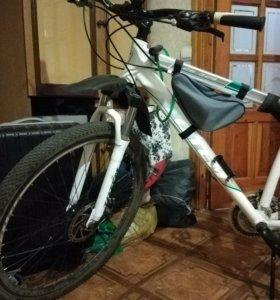 Велосипед TOTEM 26-329, неспешно.