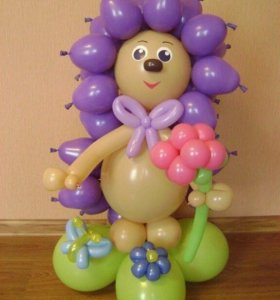 Оформления воздушными шарами
