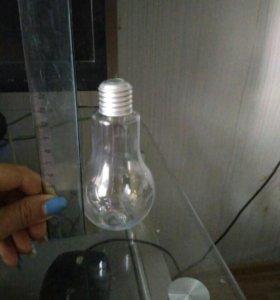Бутылка- лампочка