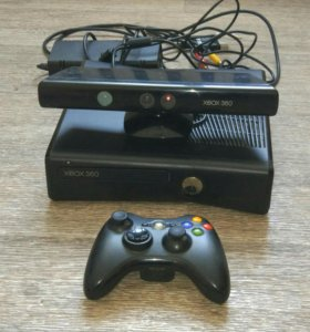 Xbox 360 250 gb +kinect+3 игры