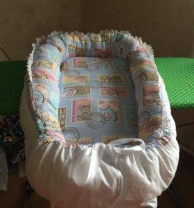 Кокон гнёздышко для новорождённого