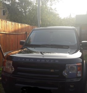 Land rover discovery 3. 2007 год