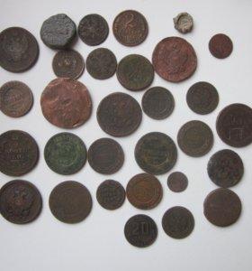 царские монеты от анны иоановны до николая2