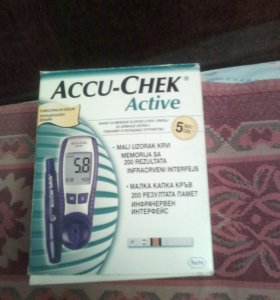 Глюкометр accu-chek aktive