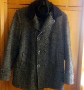 Пальто мужское зима р.46(М/L)