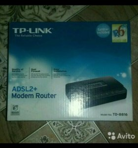 Модем Роутер TP-LINK +ADSL2